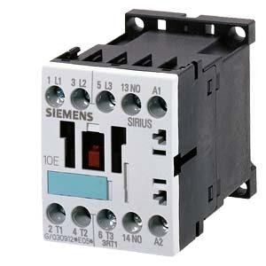 Contattore di alimentazione Siemens 4kW 24VDC 3RT10161BB41