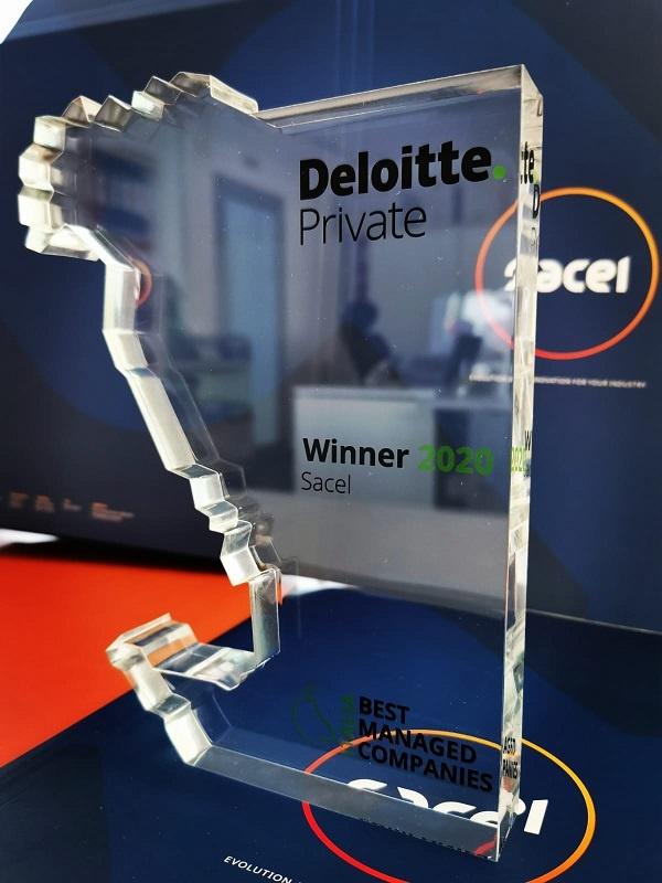 """Il premio Best Managed Companies"""" di Deloitte assegnato a Sacel"""